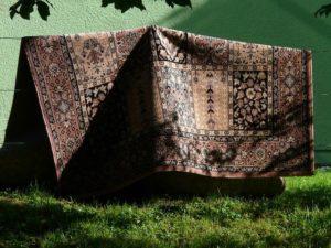 Trzepanie dywanów