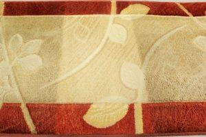Uprany i wyczyszczony dywan