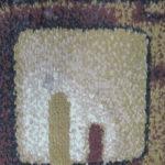 Efekt przed rozbijaniem runa dywanu
