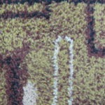 Efekt po rozbijaniu runa dywanu